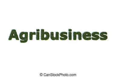 農事産業, 草, から, 現実的