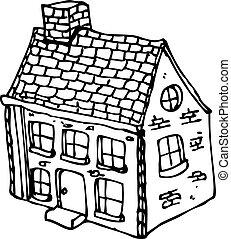 農場の家, 漫画