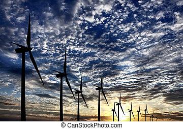 農場, エネルギー, 風