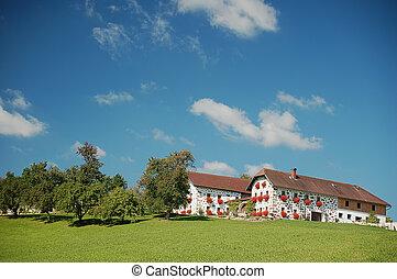 農場, 上部の オーストリア