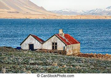 農場 建物, 捨てられた, アイスランド