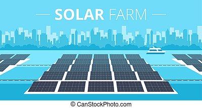 農場, 概念, 太陽