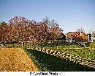 農場, 道