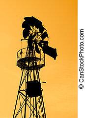 農場, 風車, 古い