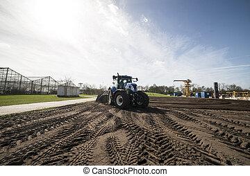 農業の機械