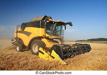 農業, -, コンバイン
