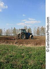 農業, 工作
