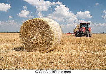 農業, -, 拖拉机