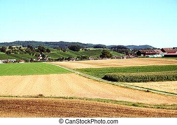 農業, 陸地