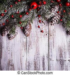 边界, 设计, 圣诞节