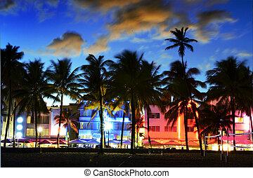 迈阿密海滩, floride, 美国