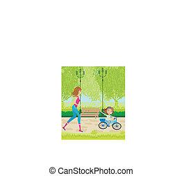 运动, 在公园