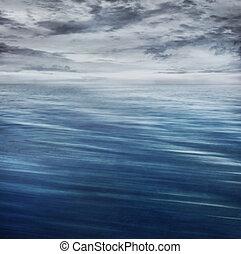 运动, blur., 波浪