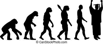 进化, 学生