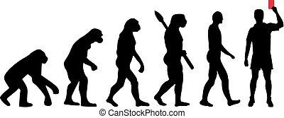 进化, 裁判员