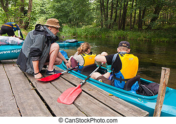 远征, kayaking