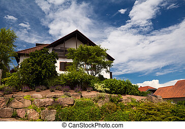 迷人, bavarian, 房子