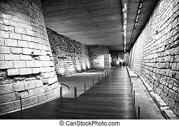 迷宮, 在, a, 巴黎, 博物館
