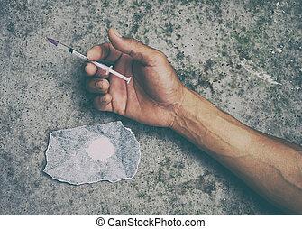 迷戀者, 藥物, 人