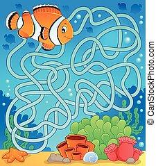 迷路, fish, 主題, 18