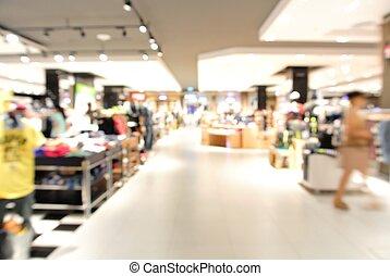 迷離, 背景, 由于, bokeh, 光, ......的, 百貨商店
