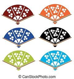 迷, 顏色, 各種各樣, 亞洲人, 手