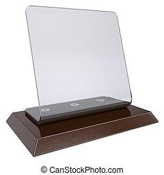 透明, デスクトップ, プレート