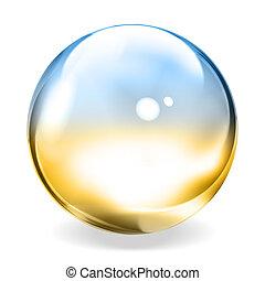 透明, 球