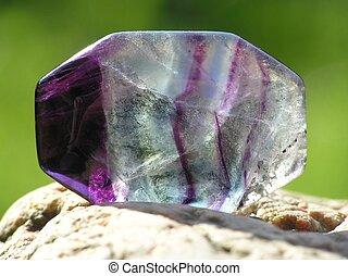 透明, 紫晶