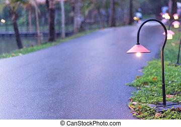 通り道, 照明
