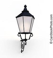 通り, コレクション, -, 通り ランプ