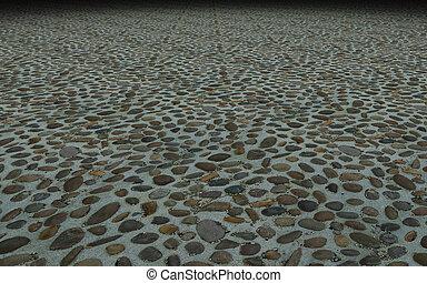 通り, 石のきめ