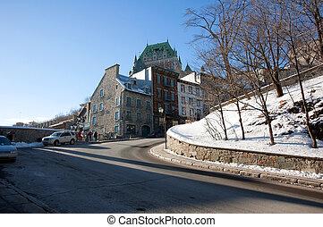 通り, 都市, ケベック