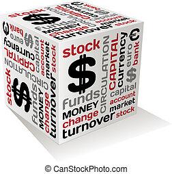 通貨, ベクトル, 概念, デザイン