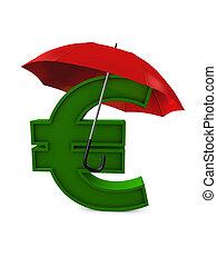 通貨, 傘