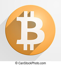 通貨, 財政, bitcoin, アイコン