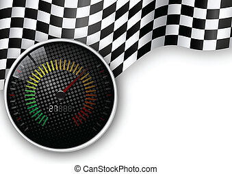 速度, 米, 旗, 交替變換