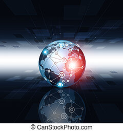 連接, 技術, 背景