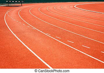 連續 軌道, 為, 体育運動