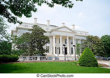 連邦である, オフィスビル, 新古典主義, スタイル, dc, アメリカ