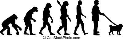 進化, パグ