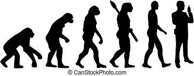 進化, 警備員
