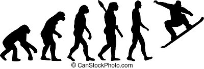 進化, snowboard