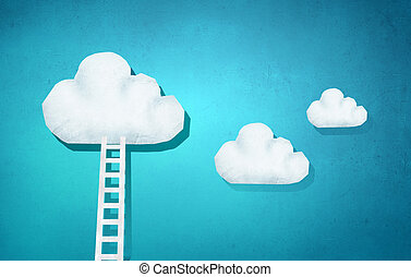 進展, 梯子, 概念