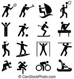 運動競技, スポーツアイコン