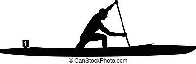 運動選手, スポーツ, rower, カヌー