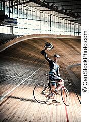 運動選手, velodrome