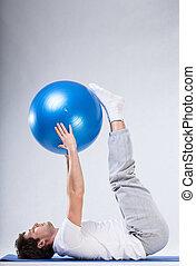 運動, ∥で∥, 大きい, ボール