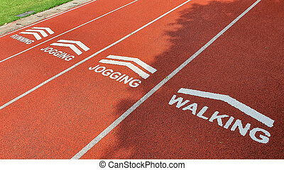 運動, ジョッギング, 歩くこと。, 動くこと, 走っている小道