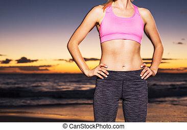 運動, 健身, 婦女